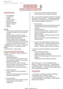 Histologia do sistema digestório - Cap 15 (Junqueira)