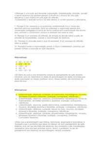 Atividade Diagnóstica 02   Didática Planejamento e Avaliação