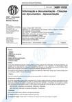 NBR 10520 Informação e documentação   Citações