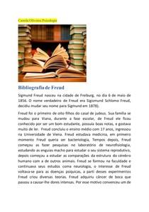 Bibliografia de Freud