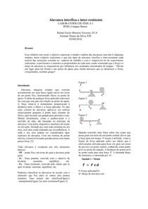 Alavanca interfixa e inter resistente relatorio