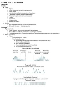 Exame físico pulmonar