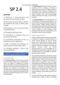 Módulo Tutoria - Embriologia SP 2.4