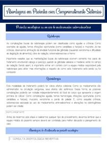 Protocolo clínico para pacientes oncológicos ou em uso de medicamentos antirreabsortivos