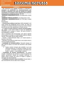 8 - BARREIRAS - HEMATOENCEFÁLICA, HEMATOLIQUORICA E LIQUORENCEFÁLICA