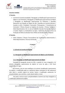 Resumo Direito Constitucional   Aula 06