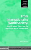 Buzan - From international to world society