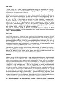 NOVOS casos concretos direito administrativo I