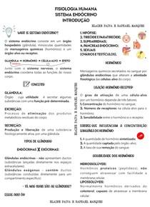 2 - RESUMO DE ESTUDO - SISTEMA ENDÓCRINO - PROF RAPHAEL MARQUES