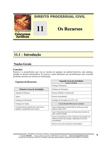 DPC 11 - Os Recursos