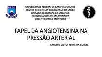 PAPEL DA ANGIOTENSINA NA PRESSÃO ARTERIAL