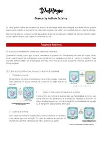 1 Acúmulos intracelulares