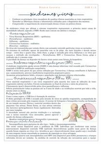 Síndromes virais - IAH I