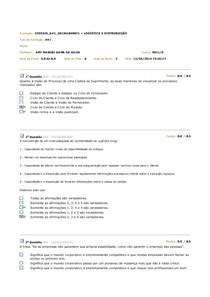 Av1 - Logística e Distribuição 2014.1