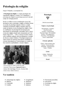 Psicologia da religião – Wikipédia  a enciclopédia livre