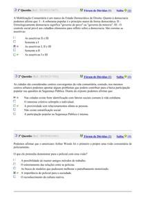MOBILIZAÇÃO COMUNITÁRIA Exerc 1-10
