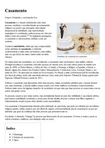 Casamento – Wikipédia  a enciclopédia livre