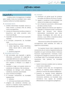 Sistema Imune (imunidade inata e imunidade adaptativa) - Imunologia
