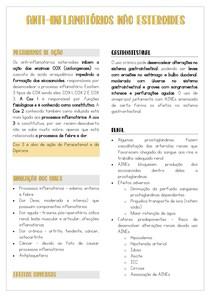 ANTI-INFLAMATÓRIOS NÃO ESTEROIDES (AINEs)