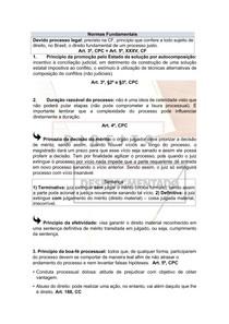 Direito Processual Civil - Normas Fundamentais
