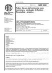 NBR 5580   Tubos de aco carbono para usos comuns na conducao de fluidos