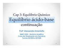 Equilíbrio Químico   ácido base(2)
