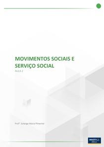 APOSTILA 2 movimentos sociais e serviço social