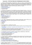 Questionário   POLÍTICAS PÚBLICAS E ORGANIZAÇÃO DA EDU. BÁSICA