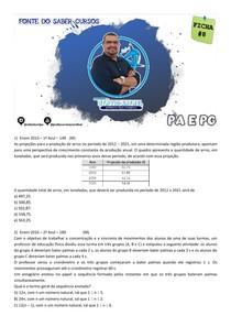 FICHA 8 DE QUESTÕES - PA E PG