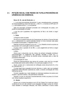 Tutela de evidencia e tutela de urgencia a luz do cpc 4
