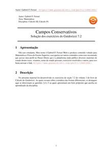 Exercícios Resolvidos Guidorizzi volume 3 capítulo 7.2