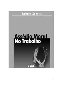 livro assedio moral no trabalho Robson Zanetti