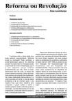 ROSA LUXEMBURGO - Reforma ou revolução