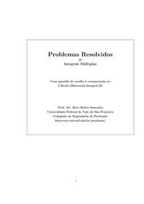 Problemas Resolvidos   Cálculo IV