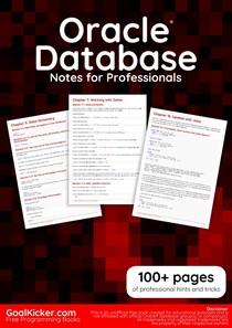 OracleDatabaseNotesForProfessionals - Oracle - 22