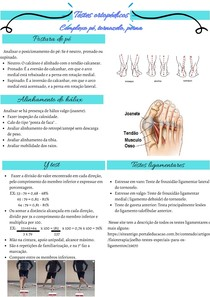 Testes ortopédicos