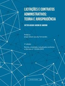 licitacoes contratos administrativos (livraria - Senado federal)