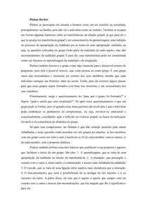 Pichon Rivière - resumo dinamicas de grupo