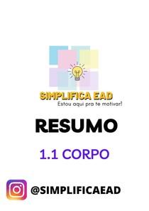 Resumo - 1.1 CORPO