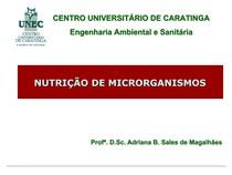 Aula_Nutrição de microrganismos