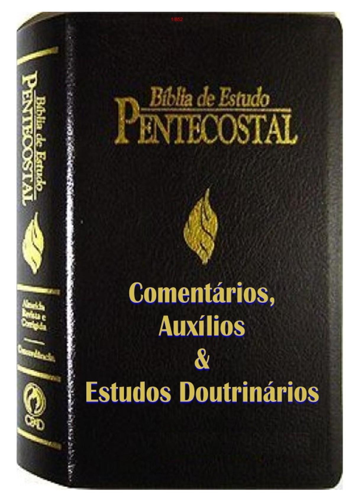 Pre-visualização do material biblia de estudo pentecostal pdf - página 1