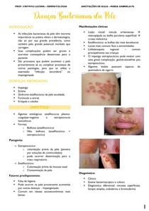 Doenças Bacterianas da Pele