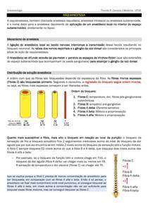 Raquianestesia / Anestesia raquidiana [RESUMO]