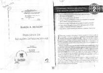 Principios de Relações Internacionais   Karen A. Mingst