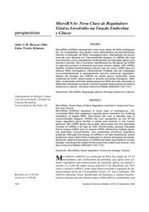 microRNA funçao endocrina e cancer