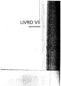 LIVRO VII DOS RECURSOS