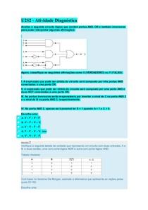 U2S2   Atividade Diagnóstica