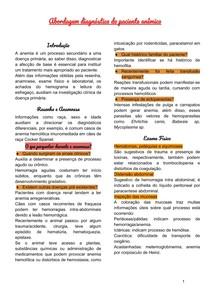 Abordagem diagnóstica do paciente anêmico