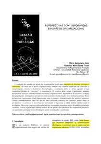 NETO_Perspectivas contemporâneas em AO