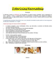 Pediatria - Icterícia Neonatal